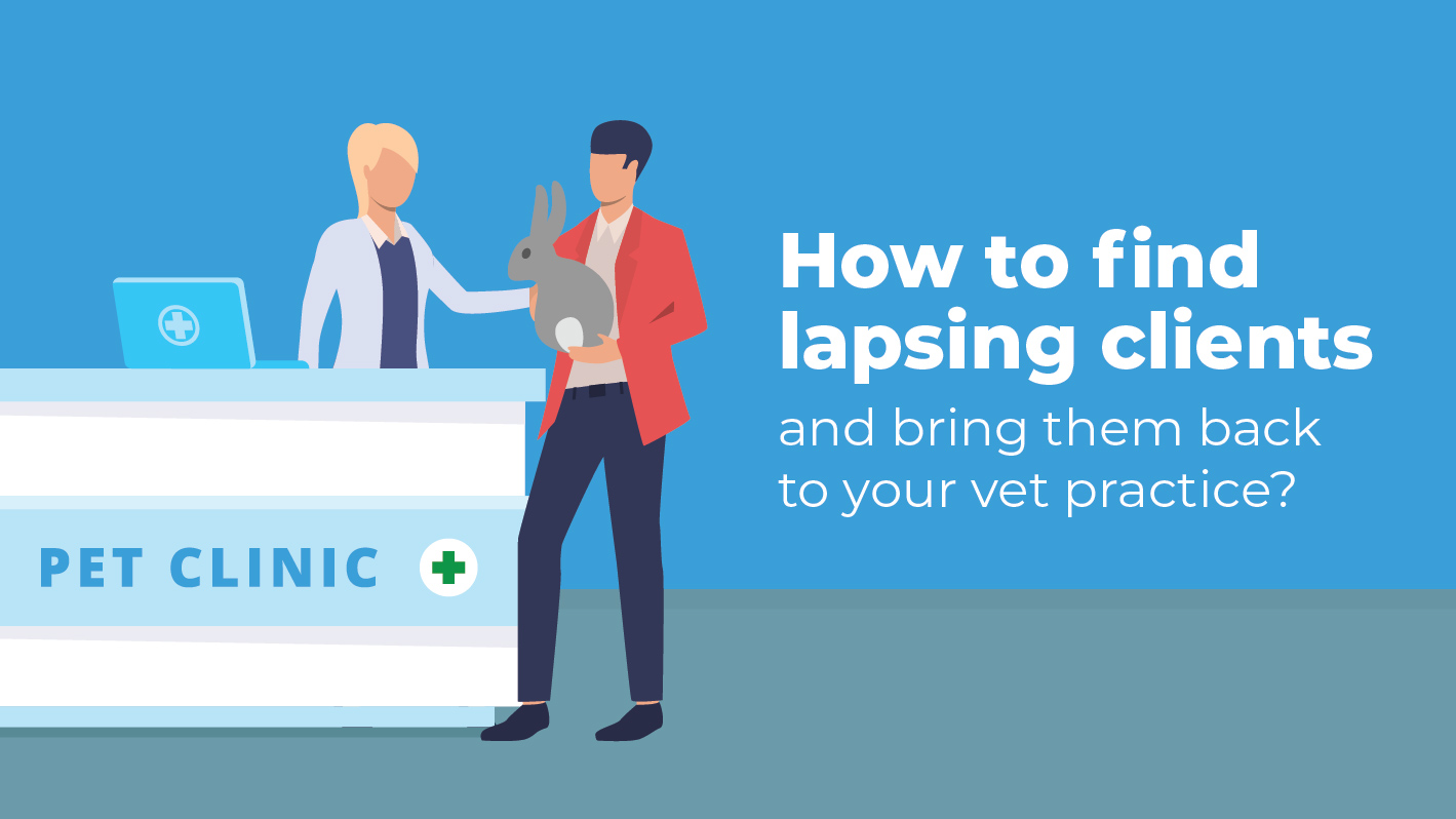 How to find your lapsing clients and bring them back to your vet practice