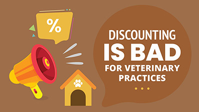 why veterinary practices should give discount