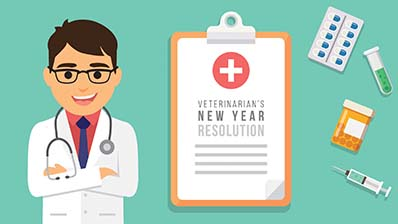 Veterinarians' New Year resolutions - Baby Steps for better Veterinary Practice Management